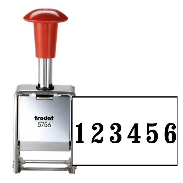Trodat 5756/M Numbering Machine