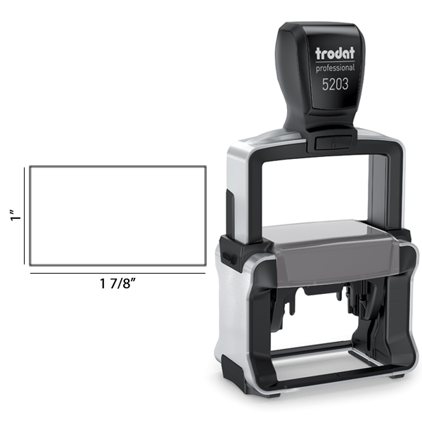 Trodat Professional 5203 Custom Text Stamp Body and Design