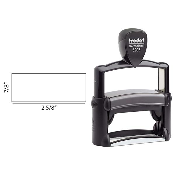 Trodat Professional 5205   Signature Stamp Body and Design