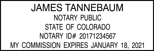 Colorado Notary