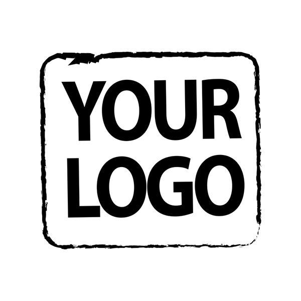 Medium Custom Logo Stamp Imprint Example