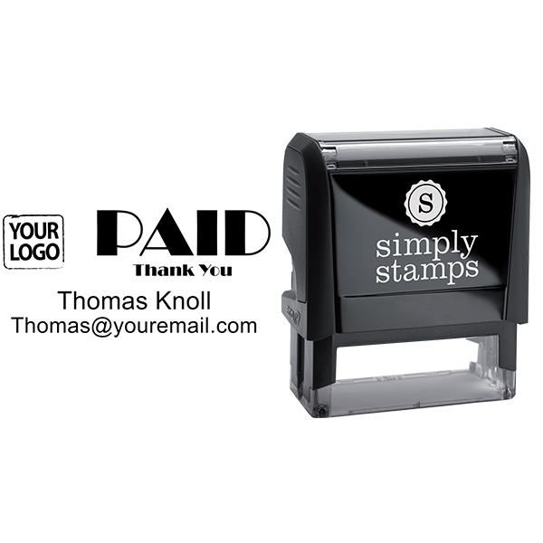 PAID Custom Logo Stamp - Stamp Body and Design