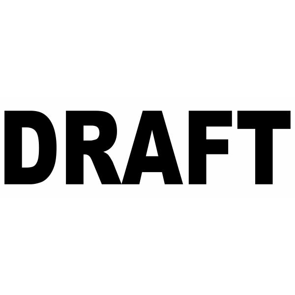 Draft Bold Stock Stamp Imprint Example
