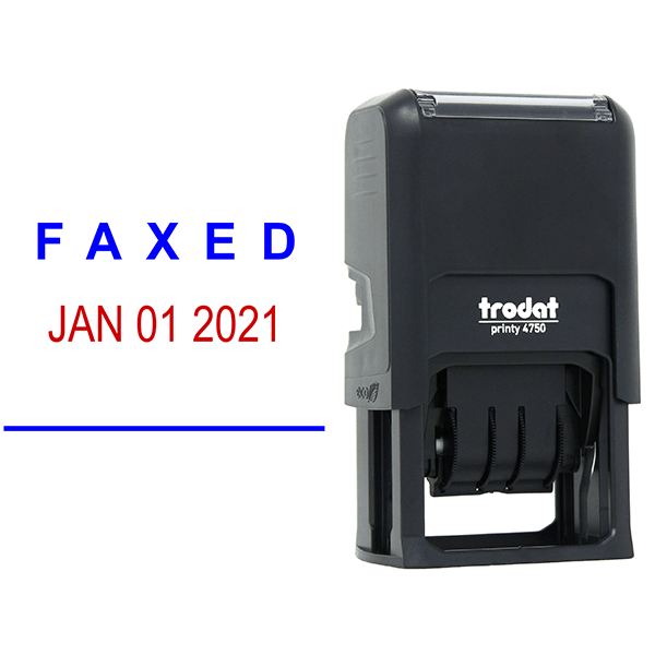 Faxed Date Stamp Body and Design