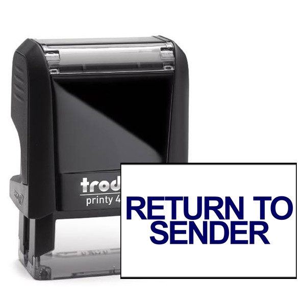 Return to Sender Stock Stamp