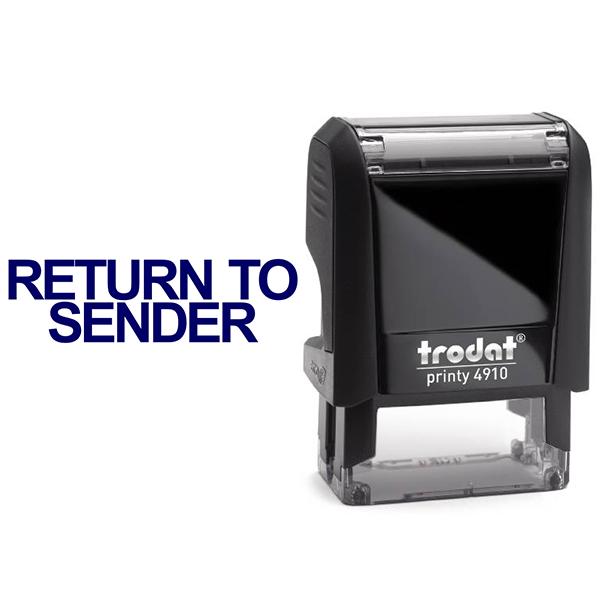 Return to Sender Stock Stamp Body and Design