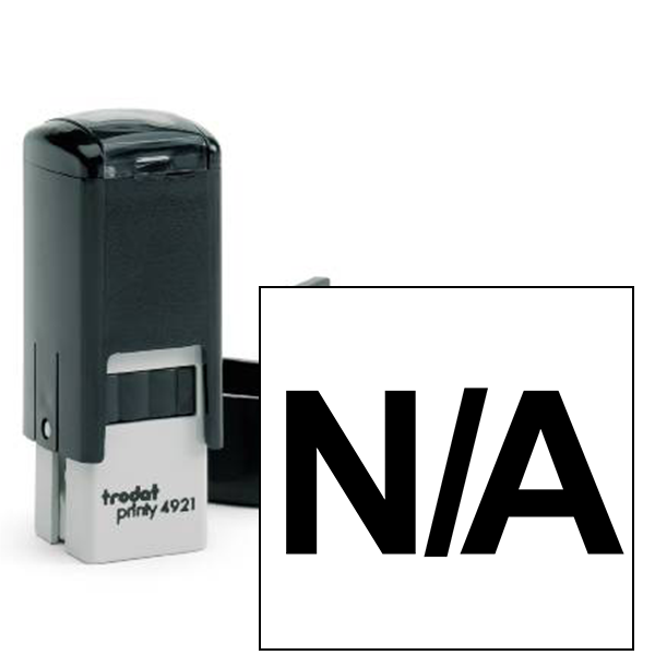N/A Stock Stamp
