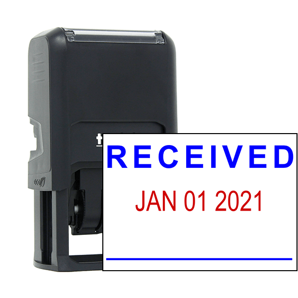 Self-Inking 'Received' Dater Stamp