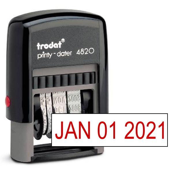 Trodat 4820 Dater Stamp