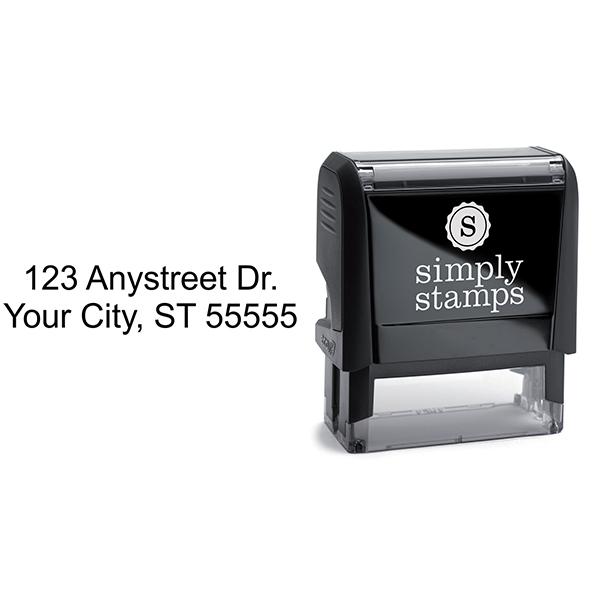 2 Line Stamp