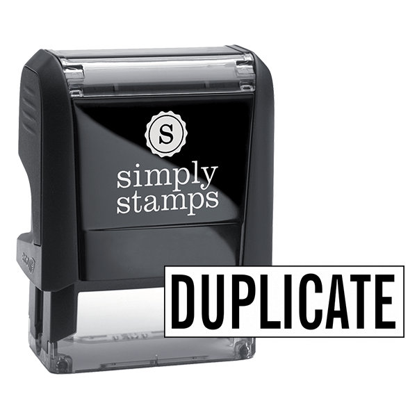 DUPLICATE Stock Stamp