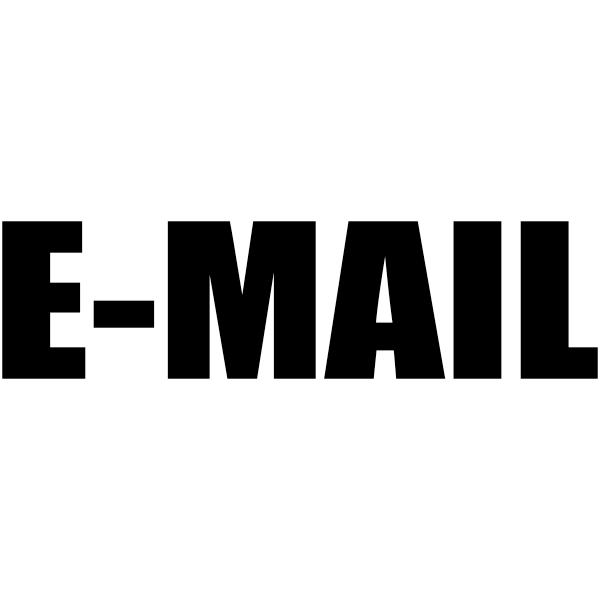 E-MAIL Stock Stamp Imprint