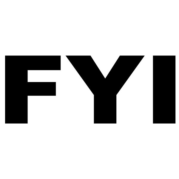 FYI Rectangular Stock Stamp Imprint