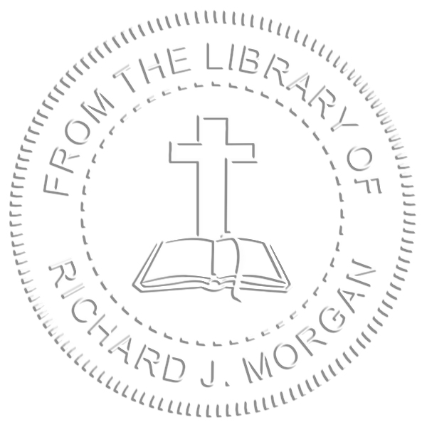 From the Library Cross Book Embosser Imprint Example