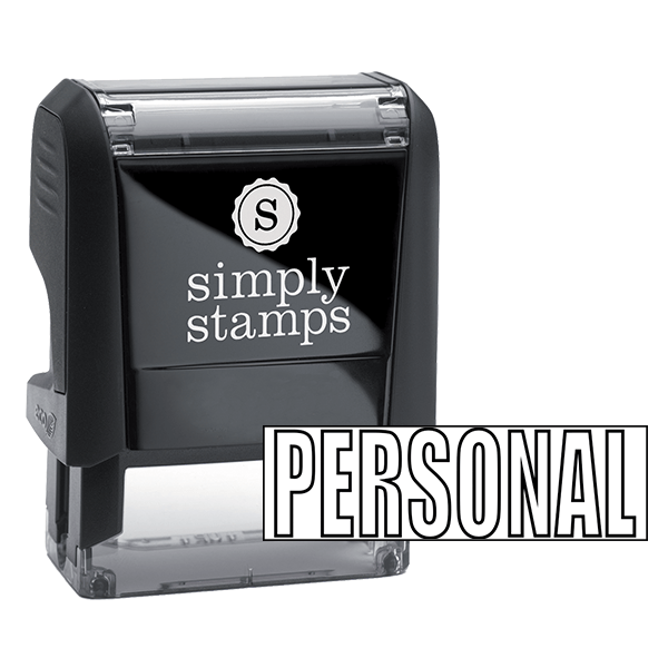PERSONAL Stock Stamp