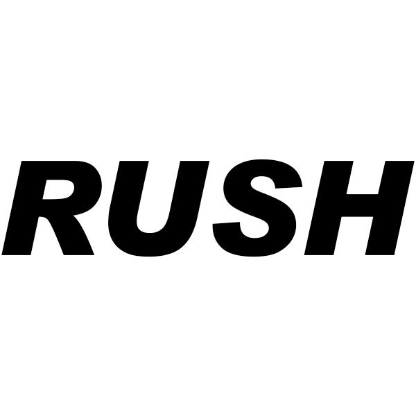 RUSH Stock Stamp Imprint