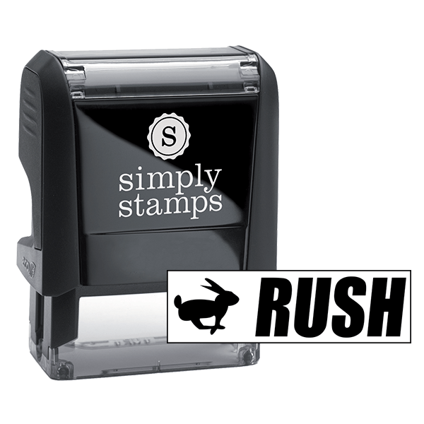 RUSH Bunny Stock Stamp