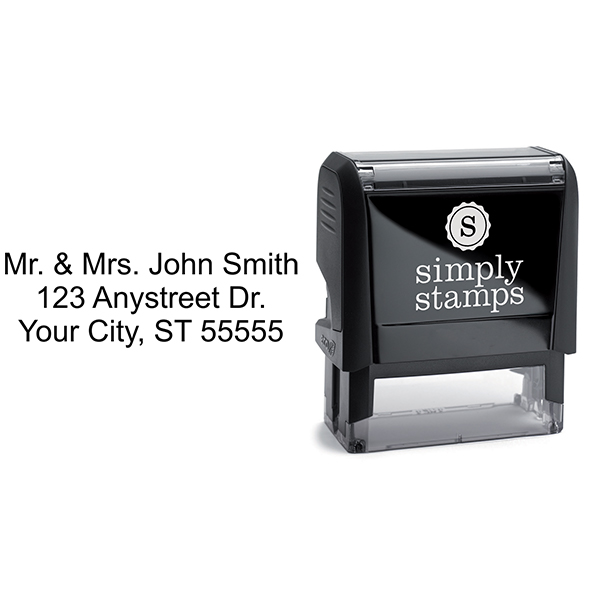 3 Line Stamp Stamp Body and Imprint