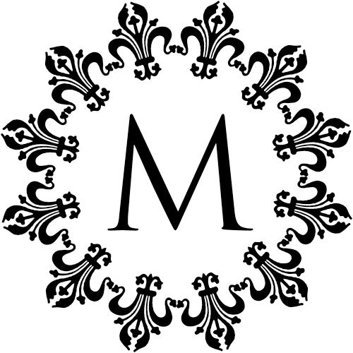 Fancy Monogram Stamp