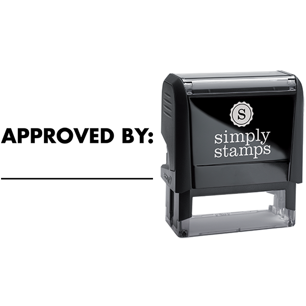 Approved with Custom Line Business Stamp