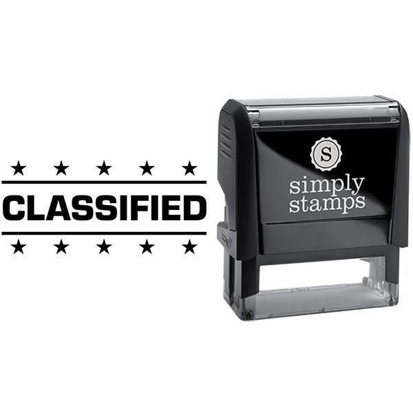 Classified with Stars Business Stamp