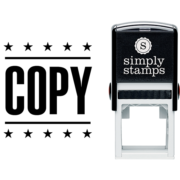 Copy with Stars Business Stamp