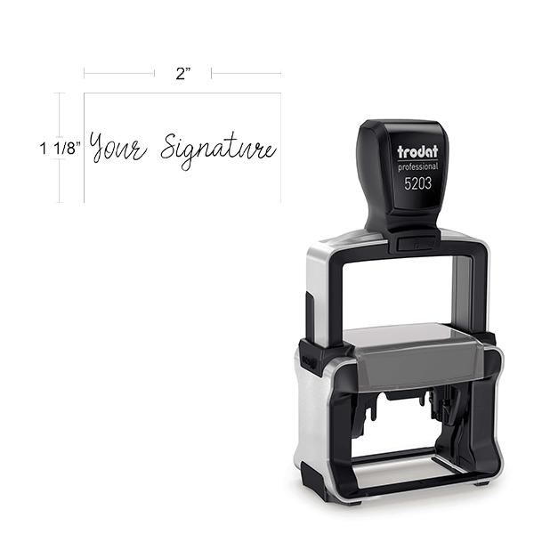Medium Professional Signature Stamp