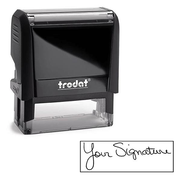 Large Custom Signature Stamp