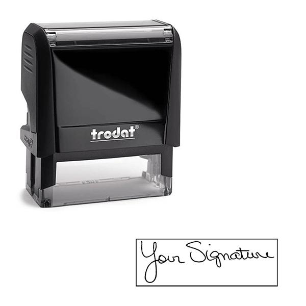 Medium Custom Signature Stamp