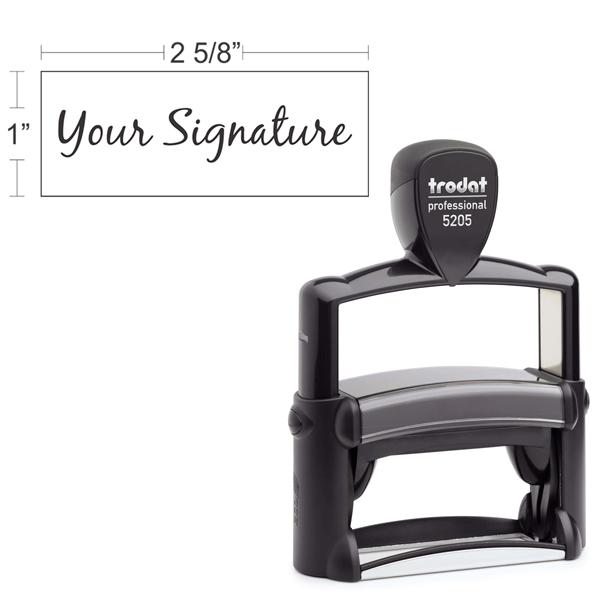 Trodat Professional 5205   Signature Stamp
