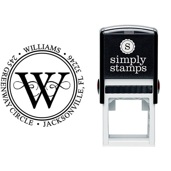 Executive Address Stamp